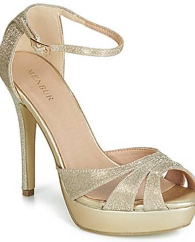 Zlaté sandále Menbur