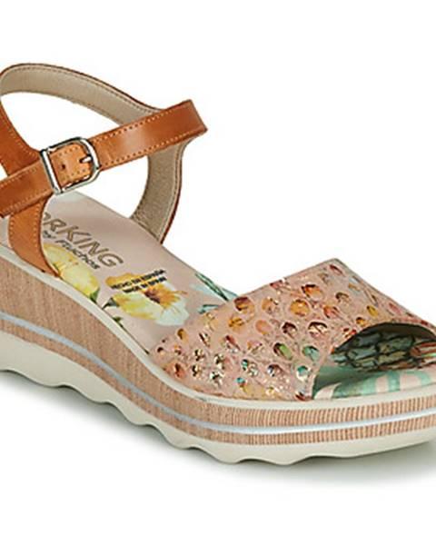 Béžové sandále Dorking