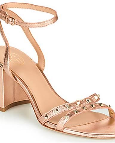 Zlaté sandále Ash