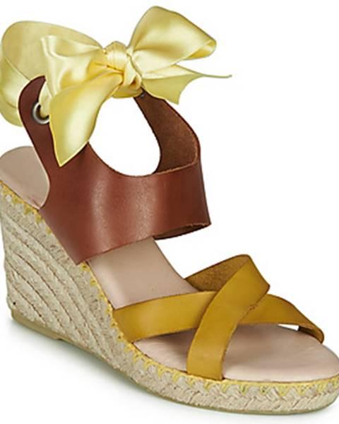 Žlté sandále Pataugas