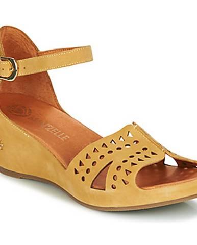 Žlté sandále Mam'Zelle
