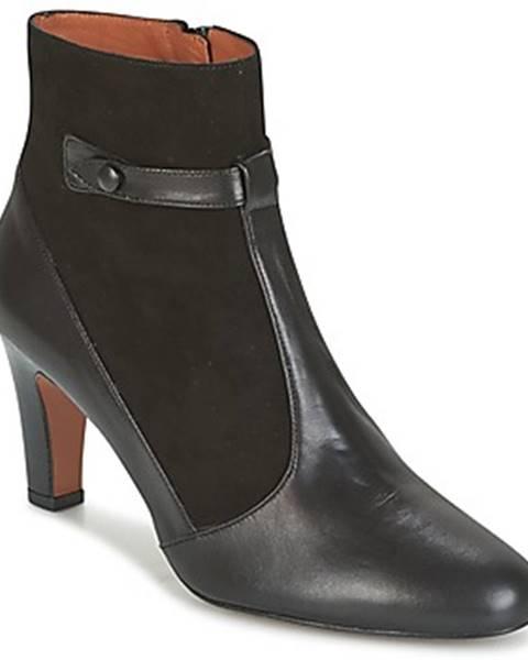 Čierne topánky Heyraud