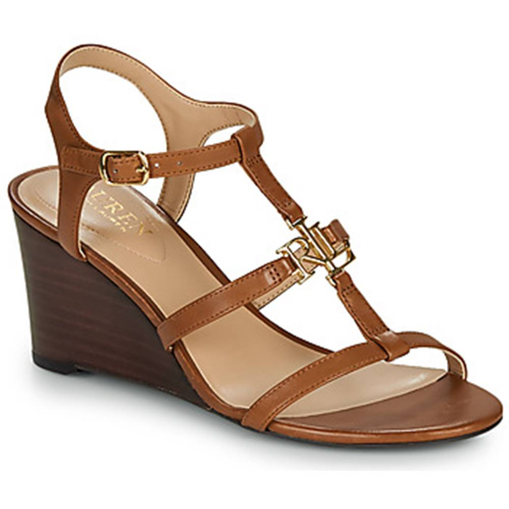 Lauren Ralph Lauren Sandále Lauren Ralph Lauren  CHARLTON SANDALS CASUAL WEDGE