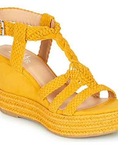 Žlté sandále Bullboxer