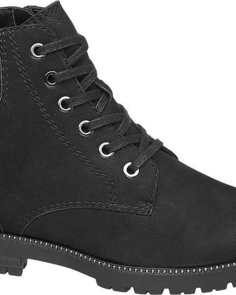 Čierna zimná obuv 5th Avenue