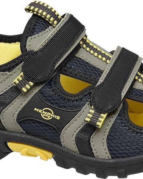 Sivé sandále Memphis One