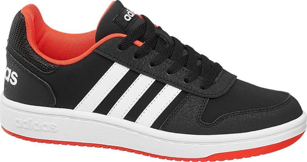 adidas adidas - Čierne tenisky Adidas Hoops