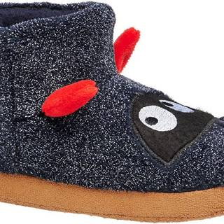 Bobbi-Shoes - Modré papuče Bobbi Shoes