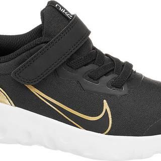 NIKE - Čierne tenisky na suchý zips Nike Strada