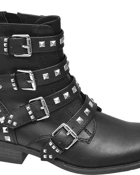 Čierne čižmy Catwalk