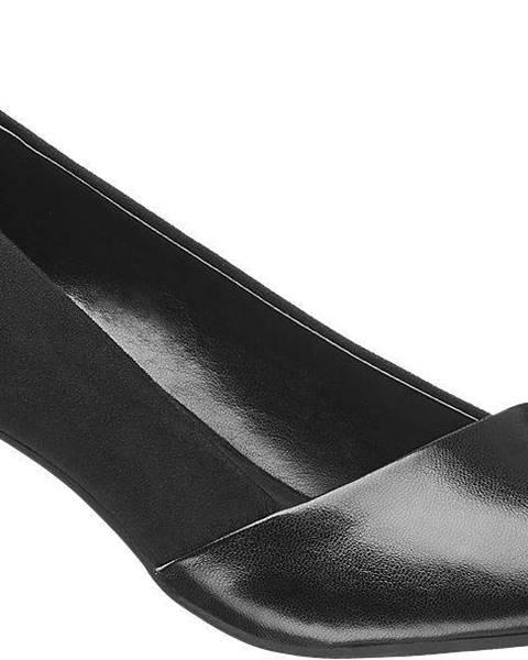 Čierne lodičky Graceland