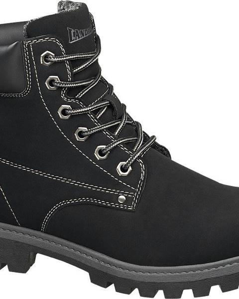 Čierna zimná obuv Landrover
