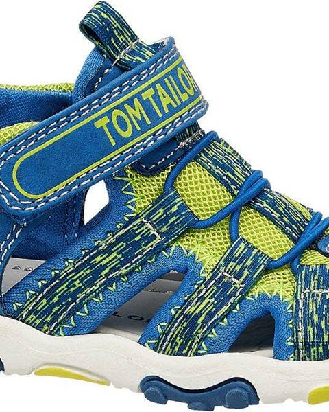 Modré sandále Tom Tailor