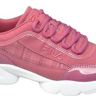 Fila - Ružové chunky tenisky Fila