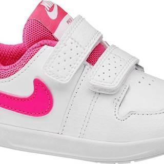 NIKE - Biele tenisky na suchý zips Nike Pico