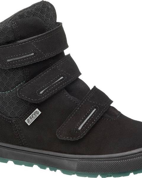 Čierna zimná obuv Bartek