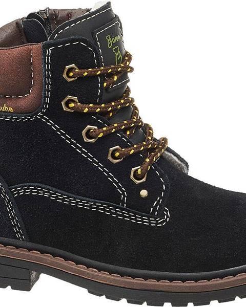 Čierne topánky Bobbi-Shoes