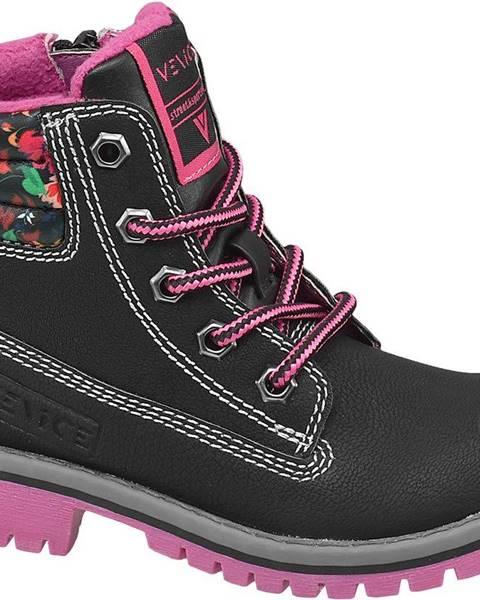 Čierne topánky Venice