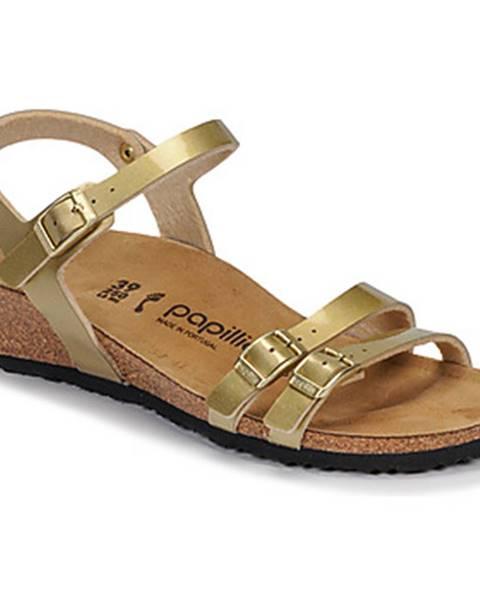 Zlaté sandále Papillio