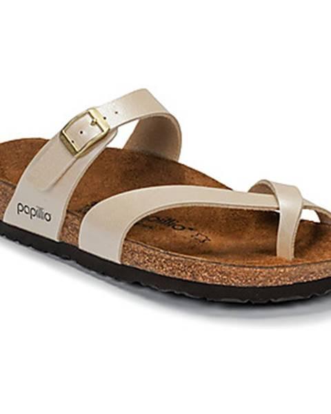 Béžové topánky Papillio