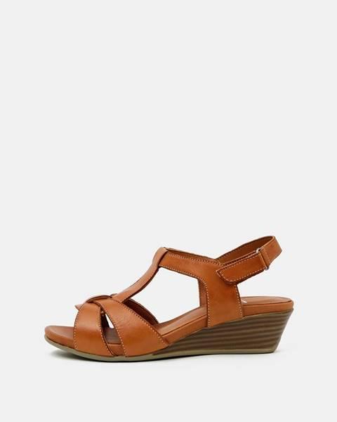 Hnedé topánky wild