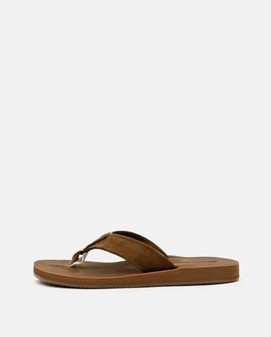 Hnedé sandále Jack & Jones
