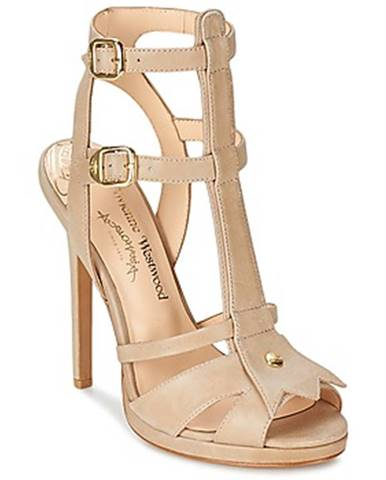 Béžové sandále Vivienne Westwood