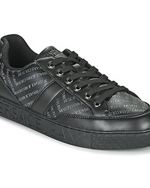 Čierne tenisky Versace Jeans Couture