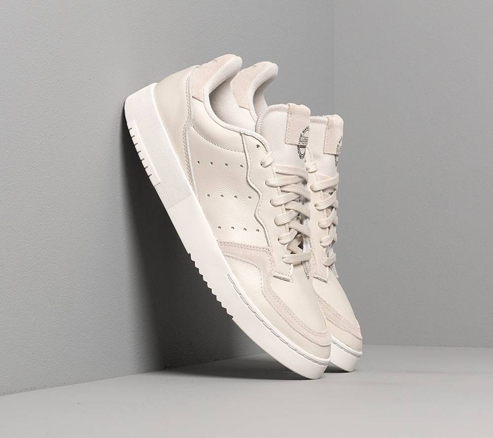 adidas Originals adidas Supercourt Raw White/ Raw White/ Crystal White
