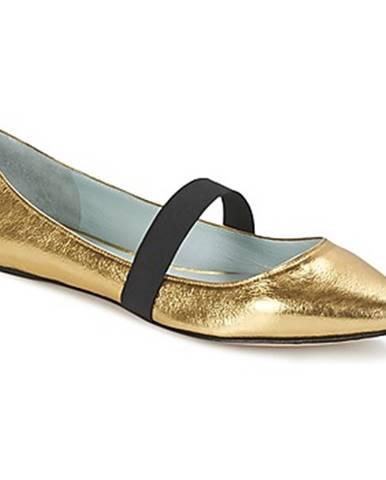 Zlaté balerínky Marc Jacobs