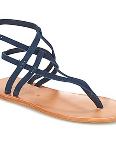 Modré sandále n.d.c.