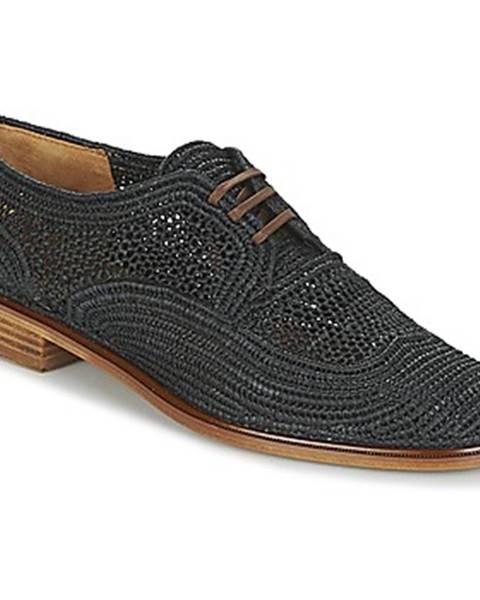 Čierne topánky Robert Clergerie