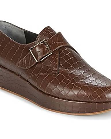 Hnedé topánky Robert Clergerie