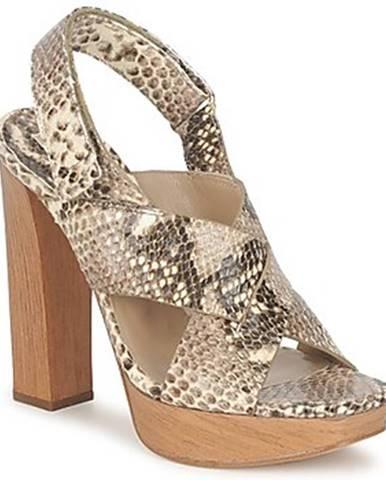 Hnedé sandále Michael Kors
