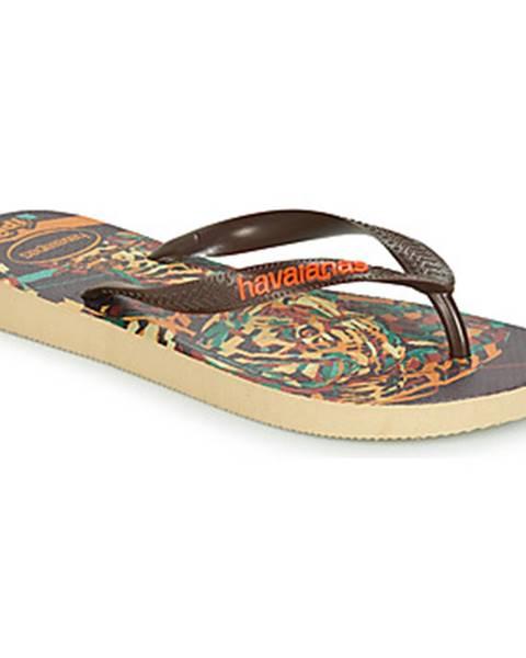 Hnedé topánky Havaianas