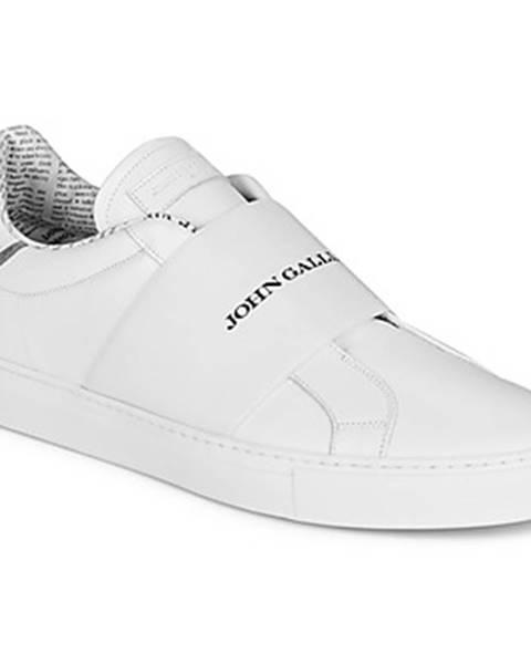 Biele tenisky John Galliano