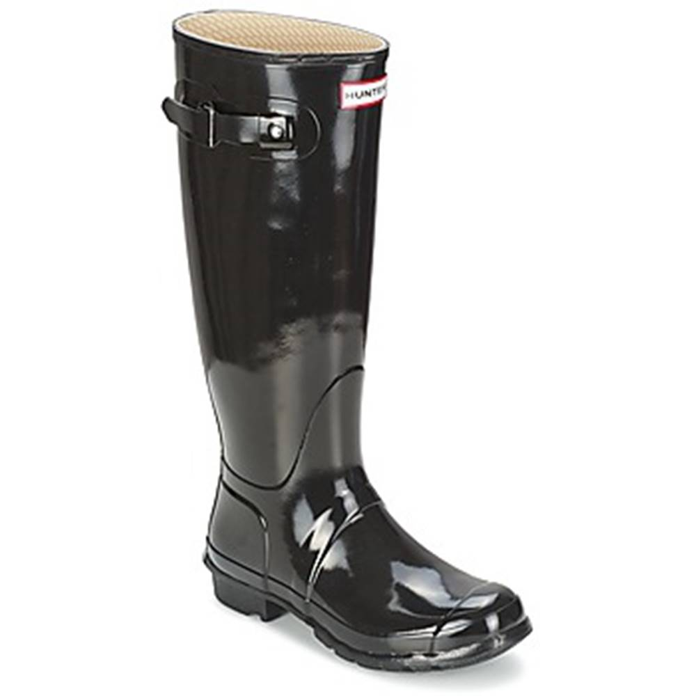 Hunter Čižmy do dažďa Hunter  WOMEN'S ORIGINAL TALL GLOSS