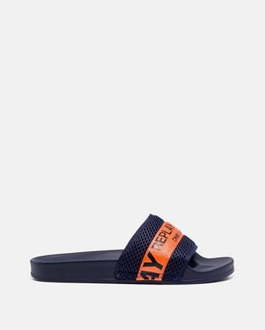 Tmavomodré sandále Replay