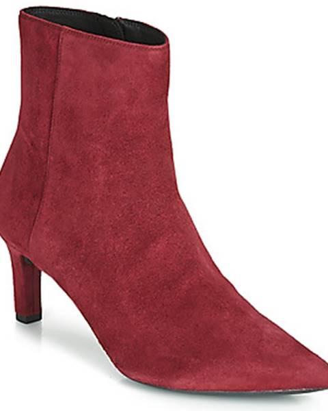 Bordové topánky Geox