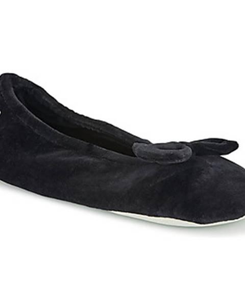 Čierne papuče Isotoner