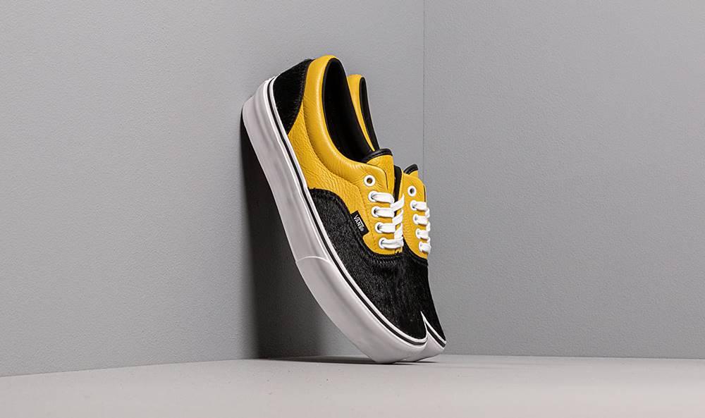 Vans Vans Era Platform (Python) Black/ Yellow